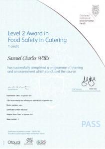 Samuel-FoodSaftey